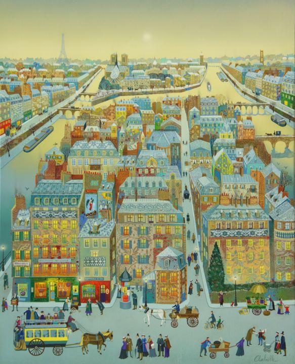 Bernard Ambielle - LA ROMANCE DE PARIS